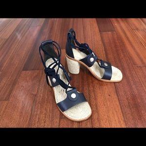 Rag & Bone Eden Block Heel Espadrille Sandals